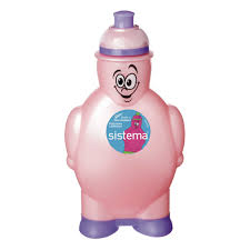 Купить <b>Бутылка для воды</b> Sistema Hydrate <b>Happy</b> Bottle 350мл ...