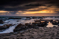 pacific coast sunset royalty free stock photos beautiful lighting