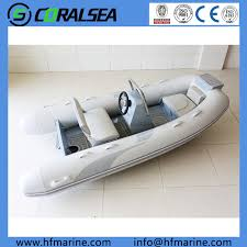 China 4.2m 13.8FT PVC/Hypalon Aluminum Rib <b>Boat</b> - China Speed ...