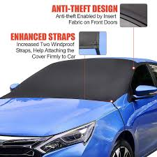 <b>Car</b> Windshield <b>Snow Cover</b>, Frost Guard Protector, Magnetic ...