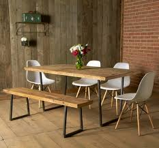 Custom Made Dining Room Furniture Furniture Exciting Modern Rustic Iverson Gray Dining Room Accent