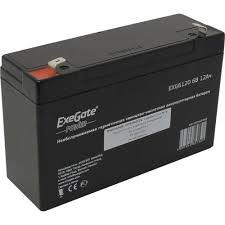 <b>Аккумулятор для ИБП</b> 6V 12Ah <b>Exegate</b> EXG6120 — купить, цена ...