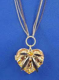 Betsey Johnson Gold HOLLYWOOD <b>GLAM</b> Leopard <b>Heart</b> Locket ...