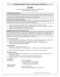 resume skills and qualifications examples special training skills computer skills qualifications resume summarize special skills and qualifications examples skills and abilities resume examples customer