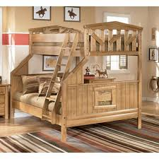 bunk bed cabin and furniture on pinterest ashley unique furniture bunk beds