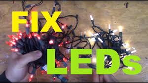 How to fix <b>LED Christmas lights</b> - YouTube