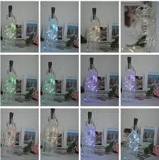Cork Wine Bottle Lights 20 LED Battery Operated <b>fairy string lights</b> ...