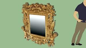 <b>Wall Mirror Baroque</b> Charles II | 3D Warehouse