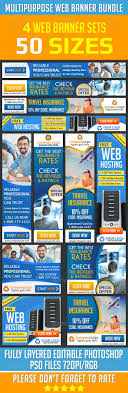 web banner ad design bundle ad design templates and banners web banner ad design bundle template psd buy and