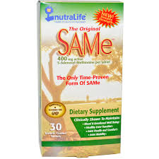 NutraLife <b>The Original SAM-e</b> (<b>S-Adenosyl-L-Methionine</b>), 400 mg ...