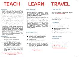 teach english french in spain department of spanish and latin teach english french in spain
