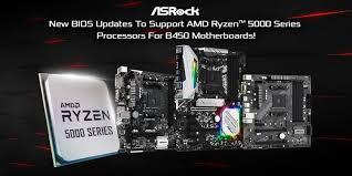 <b>Материнские платы ASRock</b> на базе AMD <b>B450</b> получили ...