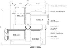 DIY Wooden Purple Martin Bird House Plans Wooden PDF how to    wooden purple martin bird house plans