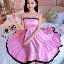<b>Ladies Sexy Silk Satin</b> Night Dress Sleeveless Nighties V neck ...