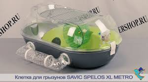 <b>Клетка Spelos XL</b> Metro для грызунов от <b>Savic</b> - YouTube