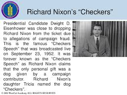 "「1952 richard nixon ""checkers speech""」の画像検索結果"