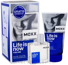 Mexx Life is Now for Him - Набор (edt/50ml+sh/gel ... - MAKEUP