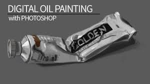 <b>Digital Oil Painting</b> - Photoshop Graphics Tablet - YouTube