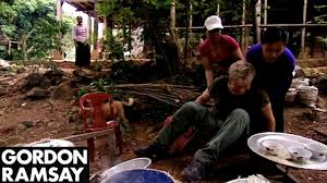 <b>Gordon Ramsay</b> Falls Off A Chair While Making Rice Cakes In ...