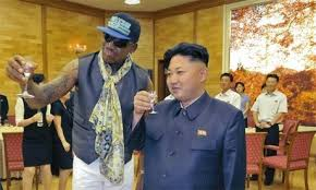 Dennis Rodman Is Now Tokyo Rose, Spineless Former NBA Punk Provides Cover for Murder and Starvation, he is now Kim Jong-Un's Propagandistic Bitch.