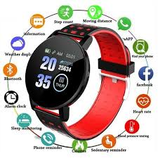 <b>119 Plus Smart Bracelet</b> Heart Rate 1.3 IPS <b>Smart Watch</b> Men ...