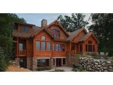 Log Home Plans at Dream Home Source   Log Home and Cabin Floor PlansDHSW
