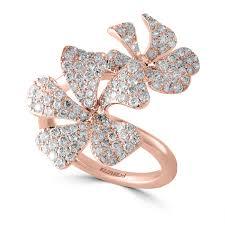 <b>14K Rose Gold Diamond</b> Ring