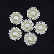 <b>10pcs</b>/<b>lot</b> Flower <b>Shape</b> Rhinestone Imitation Crystal Flat Back <b>Pearl</b> ...