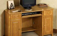 light brown lacquered mahogany wood corner computer desk which furnished with pull out keyboard tray awesome black painted mahogany