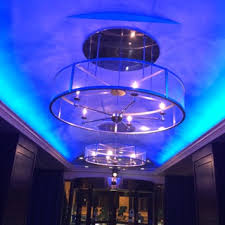 ambient lighting creates a certain mood to match the type of business you have using colored accent lighting we are able to tie your company ambient lighting creates