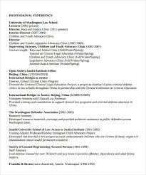 legal resume format legal resume format