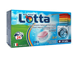 <b>Таблетки для стирки Lotta цветного</b> белья, 24 шт купить в ...