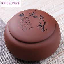 <b>XING KILO Large</b> Tea Caddy Ceramic Pu'er Tea Sealed Jar Original ...