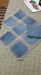 коврики-<b>пледы</b> МАК (с изображениями) | Вязание, Джинсовые ...