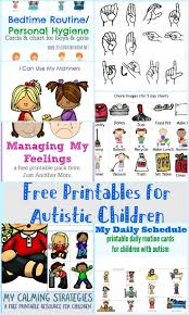 best ideas about autistic children working preschool printables