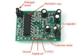 Пироэлектрический инфракрасный (<b>PIR</b>) <b>датчик движения</b> и ...