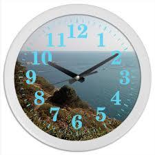 "Часы круглые из пластика ""<b>Анапа</b>."" #2723149 от Eva De Peron ..."