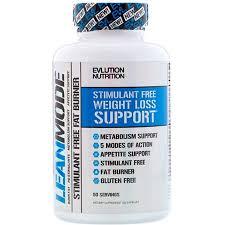 EVLution Nutrition, <b>Lean Mode</b>, <b>Stimulant-Free Fat</b> Burner ...