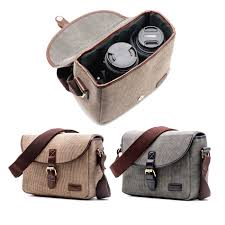 Cameras & <b>Photography</b> 200D Universal Camera Bag gray <b>Canvas</b> ...