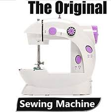 Dewel Mini Electric Household Sewing Machine/Dual ... - Amazon.com