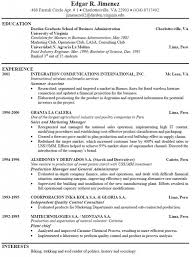example of resume for work  seangarrette coexample