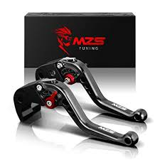 MZS Short Brake Clutch Levers for Honda GROM ... - Amazon.com