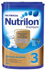 Купить <b>Смесь сухая молочная Nutrilon</b> Premium 3 с 12 мес, 800 г с ...