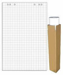 Блок бумаги для <b>флипчартов 275159</b> клетка (упак.:5шт)