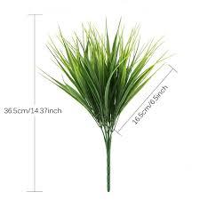 <b>5PCS</b>/<b>Set Artificial Grass Plant</b> Decorative Bendable Fake Plant ...
