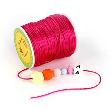 <b>TYRY</b>.<b>HU Colorful 45</b> Meters Satin Silk Rope Nylon Cord Baby ...