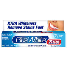 Plus White <b>Xtra Whitening</b> Toothpaste with <b>Peroxide</b> – ccaindustries ...