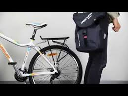How to Use VENZO VZ-F21-032 600D <b>TPU Waterproof Bike Bicycle</b> ...