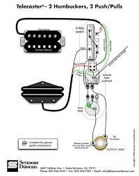 tele wiring diagram humbuckers push pulls telecaster build tele wiring diagram 2 humbuckers 2 push pulls