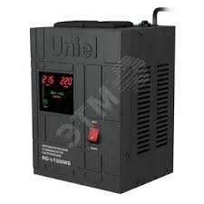 <b>Стабилизатор</b> напряжения <b>RS</b>-<b>1</b>/<b>1500WS</b> «<b>Uniel</b>» релейный ...